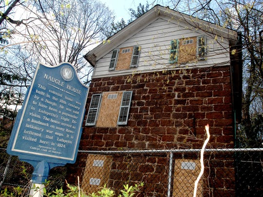 The historic Naugle House is getting some upgrades.