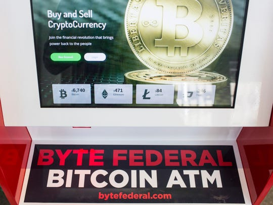 July 17, 2018 - Philipp von Holtzendorff-Fehling, chief executive and co-founder of Mama Gaia, now has a Byte Federal Bitcoin ATM that is located inside of his restaurant at Crosstown Concourse.