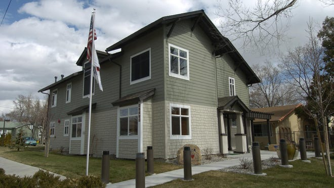 The Veterans Guest House on Locust Street provides housing to veterans and their families undergoing treatment at the VA Medical Center in Reno.