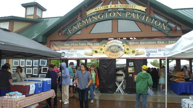 The Farmington farmers market opens Saturday, May 20.