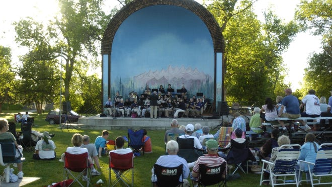 The Great Falls Municipal Band season runs from June 13 through Aug. 15, with concerts every Wednesday night at 7 p.m. at the Gibson Park band shell.