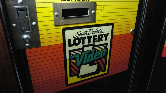 A video lottery machine at Falls Landing.