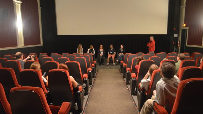 A young adult filmmakers panel was held at Empire Cinema during 2014's festival.