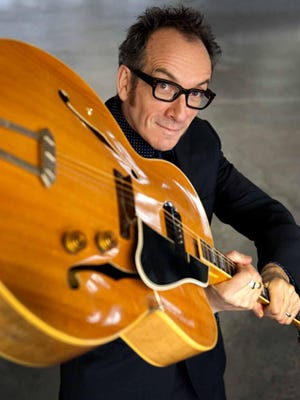 Elvis Costello performs Friday at Brewery Ommegang in Cooperstown.