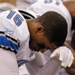 Then-Detroit Lions wide receiver Titus Young in January 2012.
