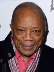Producer Quincy Jones.