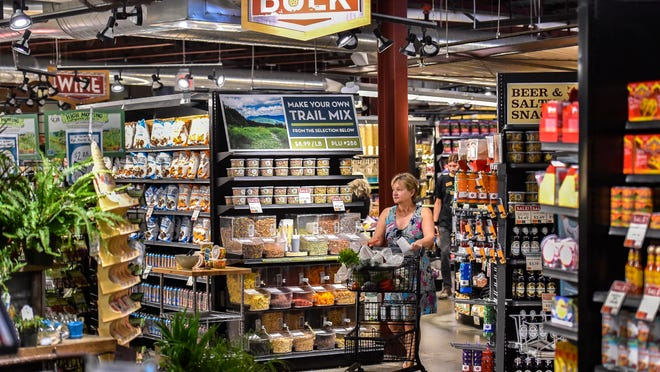 Healthy Living, seen on Tuesday, in South Burlington considers the new Trader Joe's nearby to be a complement to their store rather than a direct competitor.
