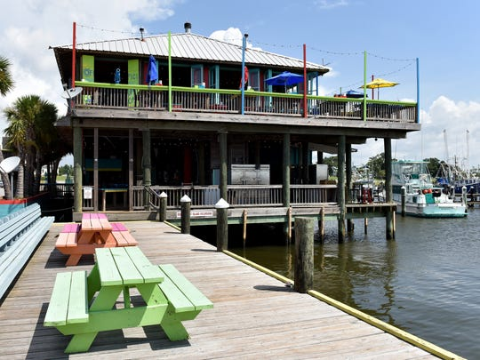 Shaggy's restaurant in Pass Harbor, Pass Christian, the original location, opened in 2007.