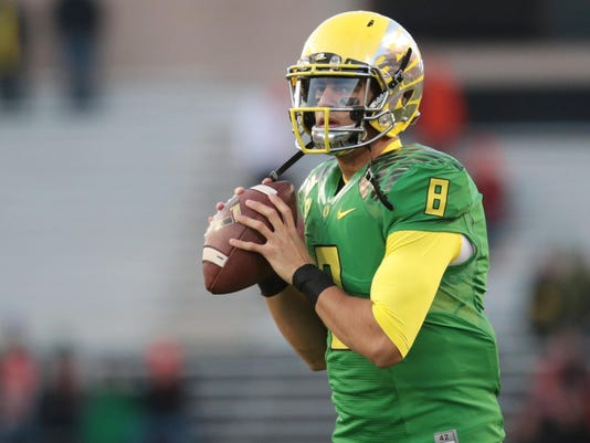USP NCAA FOOTBALL: OREGON AT OREGON STATE S FBC USA OR