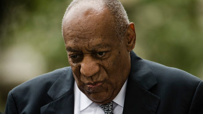 Bill Cosby arrives for Day 10 of his sexual assault trial at the Montgomery County Courthouse in Norristown, Pa., June 16, 2017.