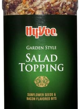 Hy-Vee garden style salad topping is part of a voluntary recall.