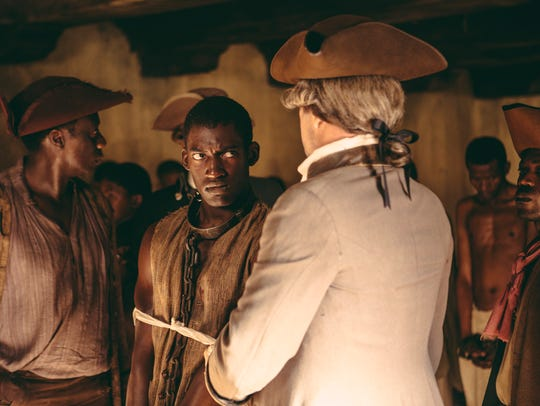 Malachi Kirby stars as Kunta in the first episode of
