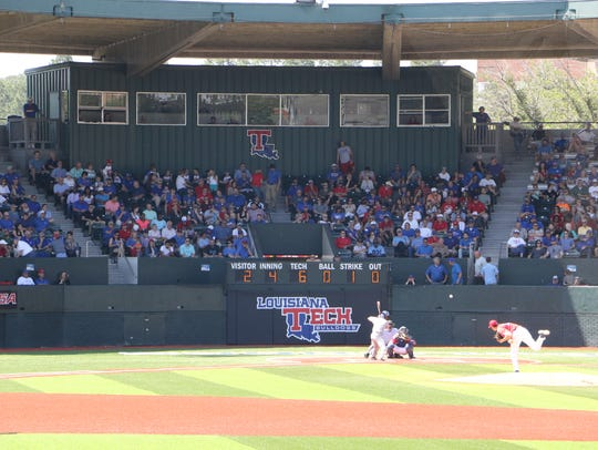 Louisiana Tech saw an increase in attendance this year