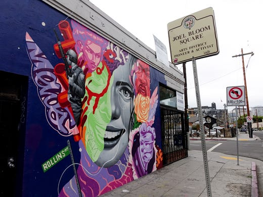 The Arts District In Downtown Los Angeles Shows A Different