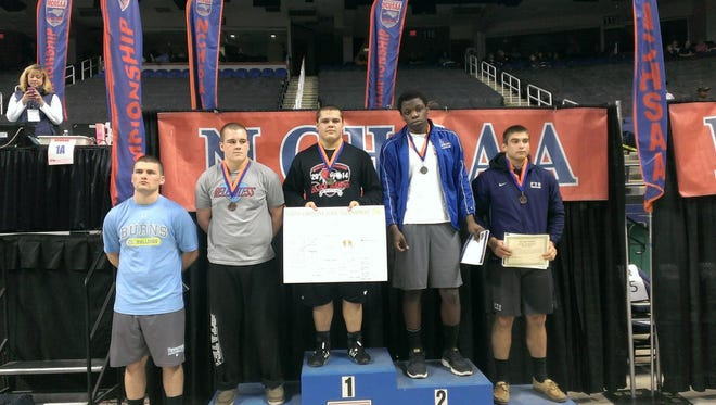 North Buncombe's Mikhaill Simonovich was a NCHSAA 3-A champion last winter.
