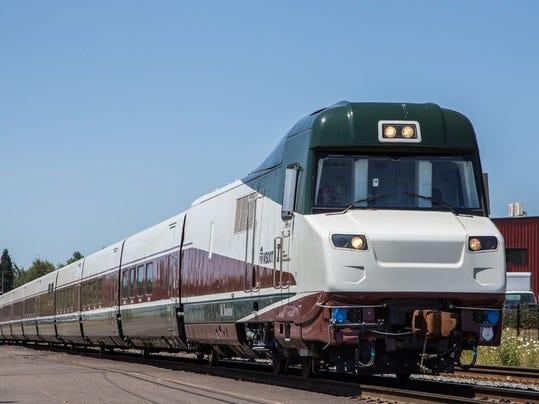 AP Amtrak Trains Oregon