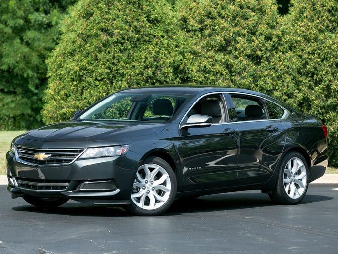 2014 Chevrolet Impala Wins Cars.com/USA Today/MotorWeek