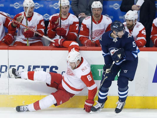 Winnipeg Jets vs Detroit Red Wings