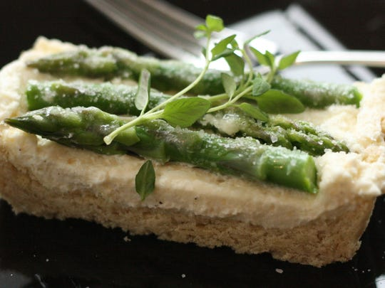 For those with a savory palette, give the Parmesan Asparagus Tart a go.