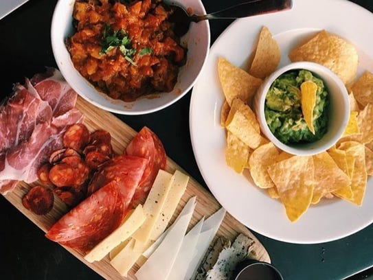 Dishes at Barca City Cafe and Bar.