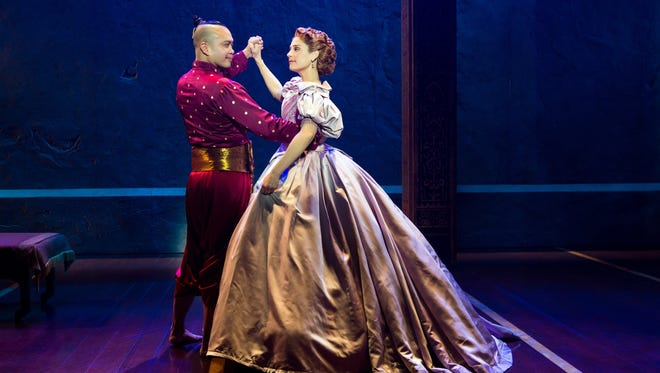 """Elena Shaddow and Jose Llana star in the Lincoln Center Theater production of Rodgers and Hammerstein's """"The King and I."""" The touring production is appearing April 10-22 at the Aronoff Center as part of the Broadway in Cincinnati Series."""