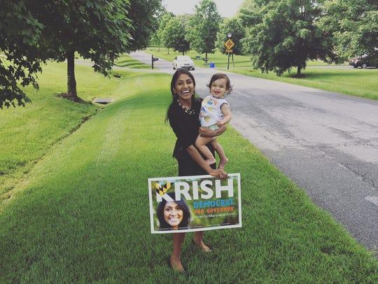 Democrat Krish Vignarajah is the only woman who filed