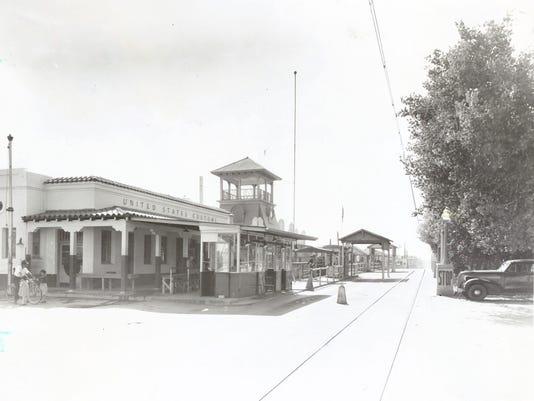 SANTA FE STREET BRIDGE CIRCA 1940