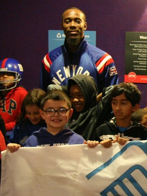 Giants star cornerback Dominique Rodgers-Cromartie recently held a holiday movie night for a group of Clifton Boys & Girls Club members.