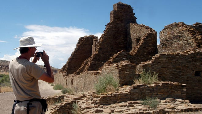 Chaco Canyon, depicted in this file photo, is one of the national parks and monuments fourth graders will be able to visit using a free BLM pass. Chaco Culture National Historical Park is a  World Heritage site that includes the remnants of an ancient civilization whose monumental architecture and cultural influences have been a source of mystery for years.