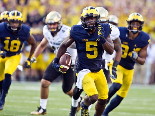 Jabrill Peppers at Michigan.