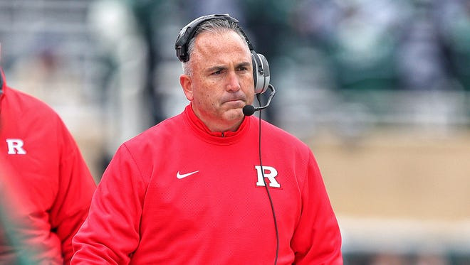 While Rutgers head coach Kyle Flood was suspended for three games on Wednesday, his job is clearly in jeopardy.
