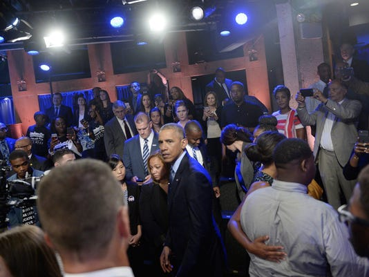 us President Obama at town hall hosted by ABC