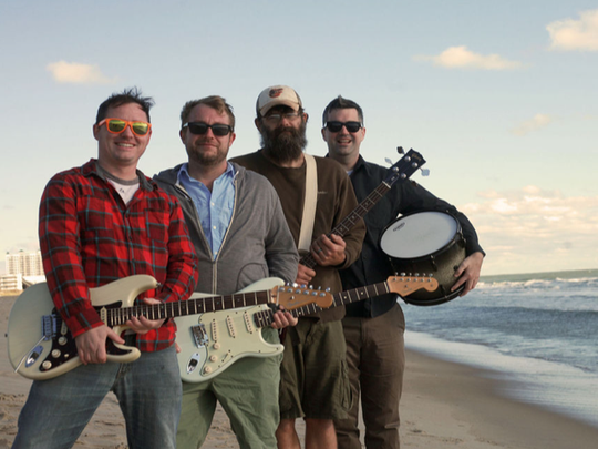 Surf-rock act the Flying Faders will perform at Peppers