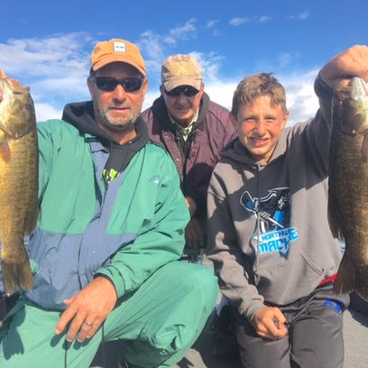 Chequamegon Bay, Hayward area fishing report for Aug. 15
