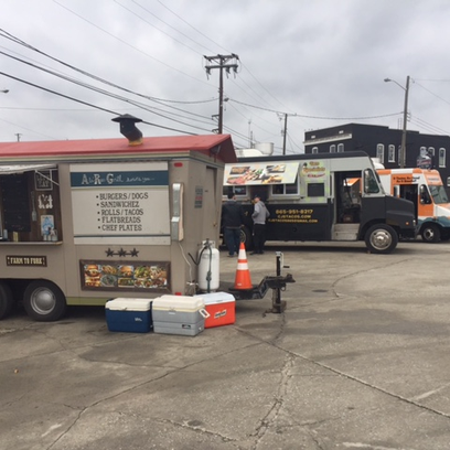 Fuel up deliciously at Central Filling Station's food trucks