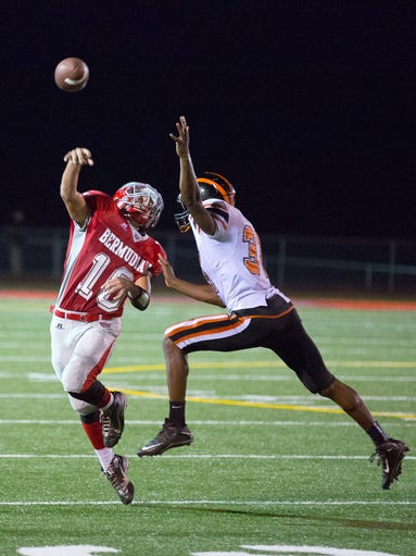 Chase Dull, Bermudian Springs, sophomore, QB: After