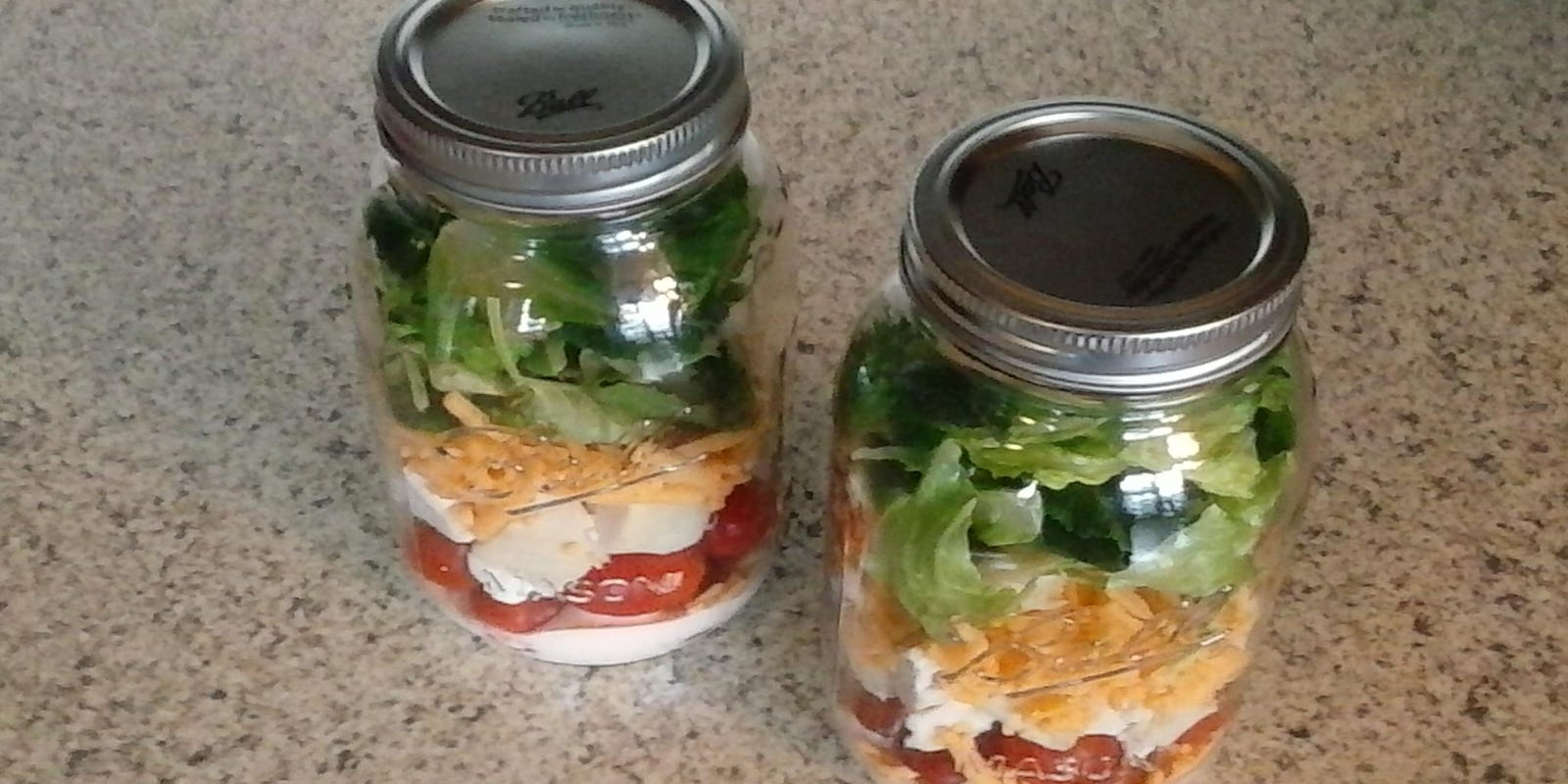 Ian Build A Better Jar Salad