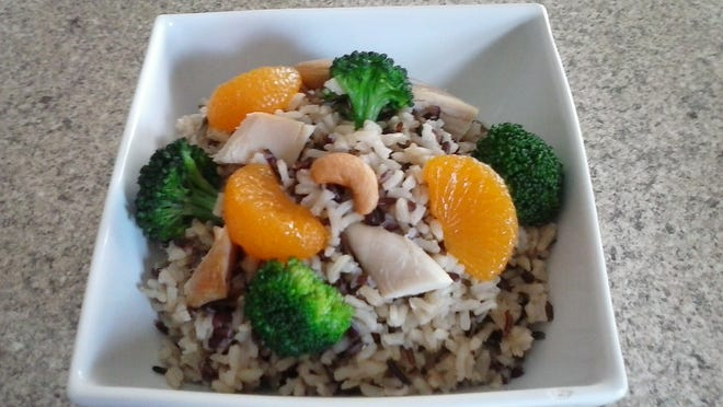 Ruby Wild Mandarin Bowl is an easy way to add some whole grains to your menu.