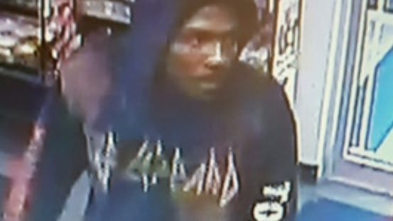 Authorities need help identifying the suspect in an armed robbery at Roseville Pharmacy Saturday morning.