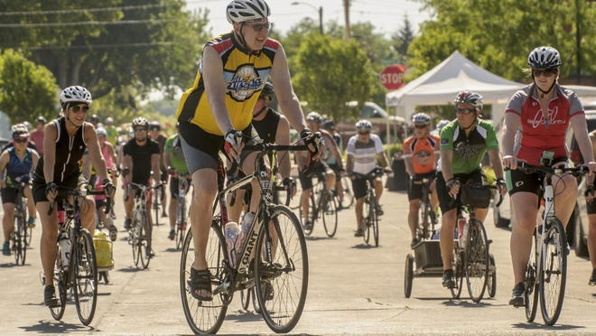 Pedal CVT (Chichaqua Valley Trail) bike riders enjoyed blue skies and and open trail full of fun June 10 starting and ending in Bondurant with music, food and beverages. More than 150 riders took part in the ride and even more participated in the day and evening activities.