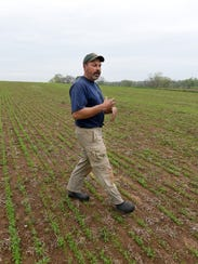 Farmer Brent Kaylor discusses the no-till technique