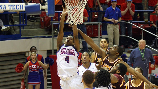 Louisiana Tech guard Speedy Smith said his favorite memory is when he hit the game winner against Iona in the 2014 NIT.