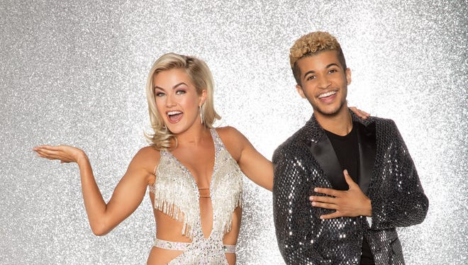"Lindsay Arnold and Jordan Fisher; the celebrity cast of ""Dancing with the Stars."""
