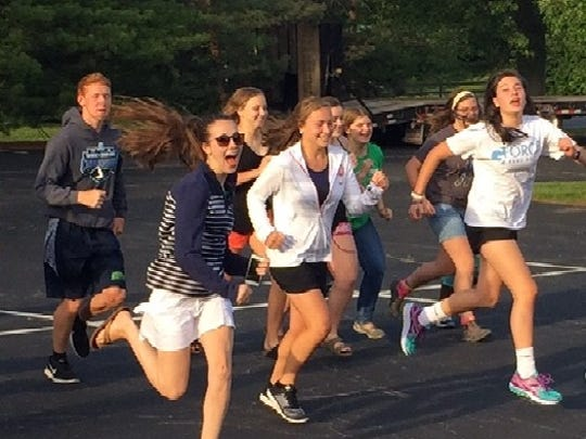 The Stomp Out Hunger 5K Run/Walk benefiting Inter Parish