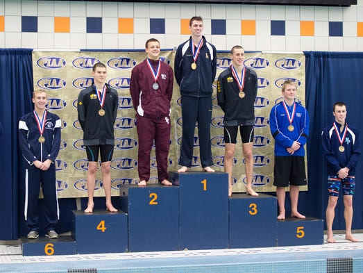 Chambersburg's Jacob Greenwood placed sixed in the