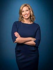 FSU alum Stephanie Abrams of The Weather Channel.