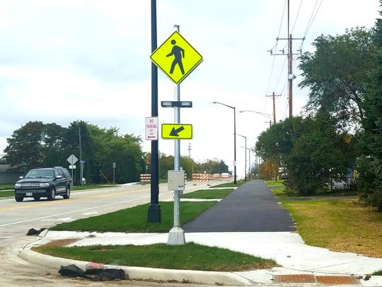 Two Rivers' new Lincoln Avenue will feature a bike/pedestrian