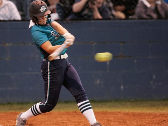 Siegel's Jensen McElroy hit .429 with 22 doubles, five