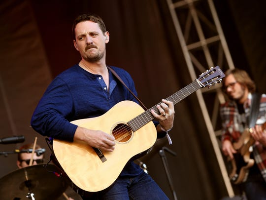 Sturgill Simpson performs onstage during day two of the Boston Calling Music Festival at Boston City Hall Plaza on September 26, 2015 in Boston, Massachusetts.