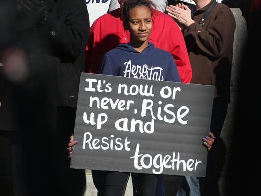 March for Iowa's Teachers - 5